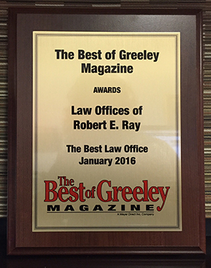 The Best of Greeley Magazine Award